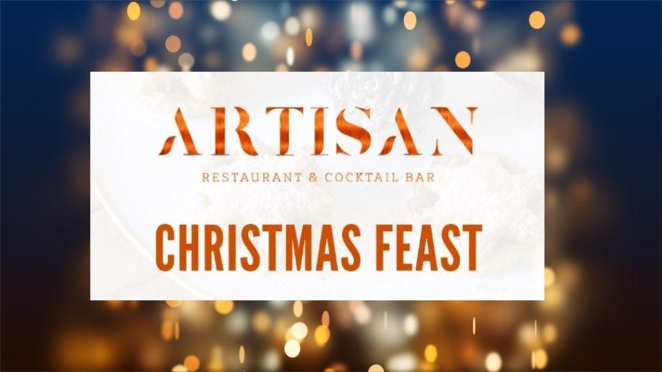 Christmas Feast at Artisan Restaurant and Bar Olhos de Água