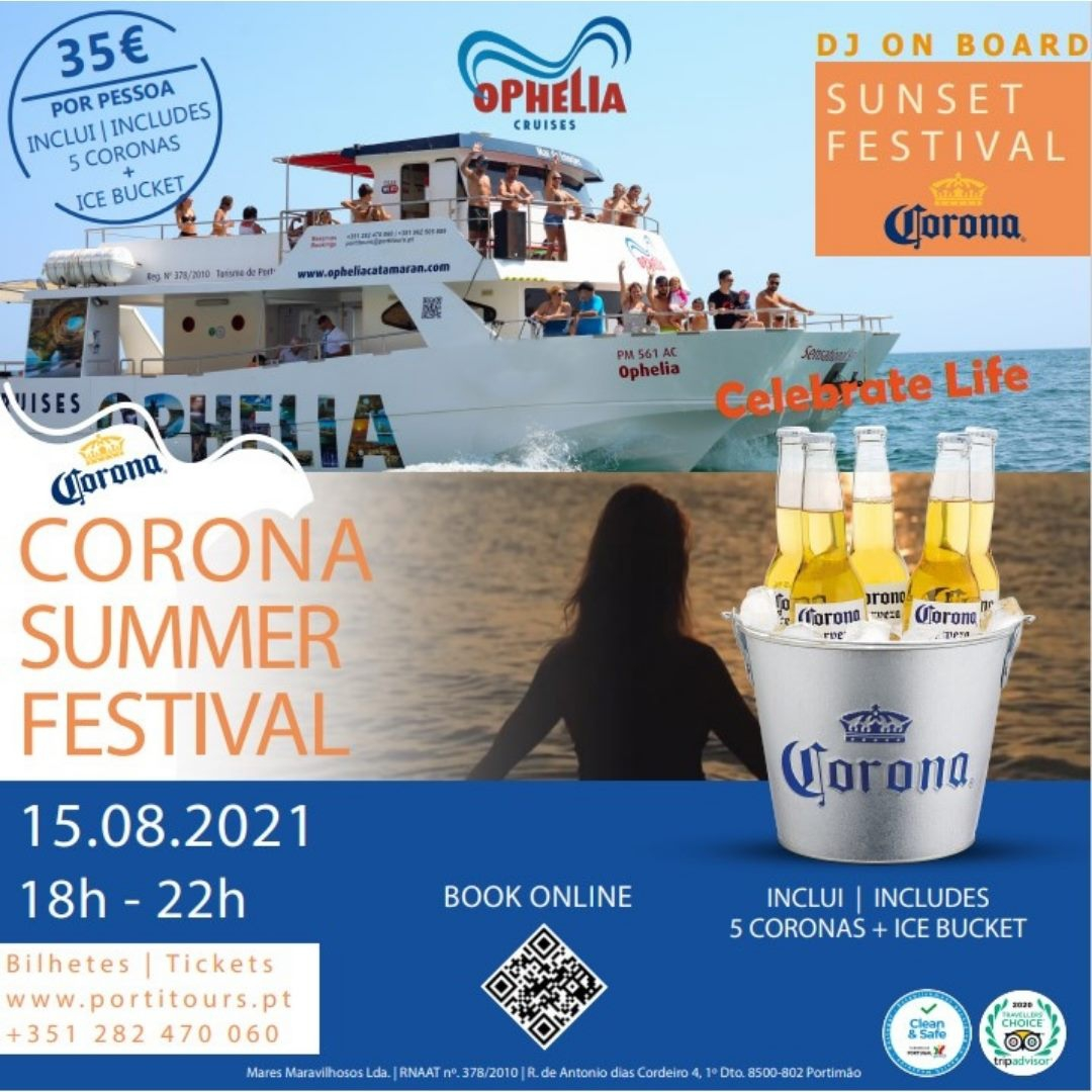 Corona Summer Festival Cruise Ophelia