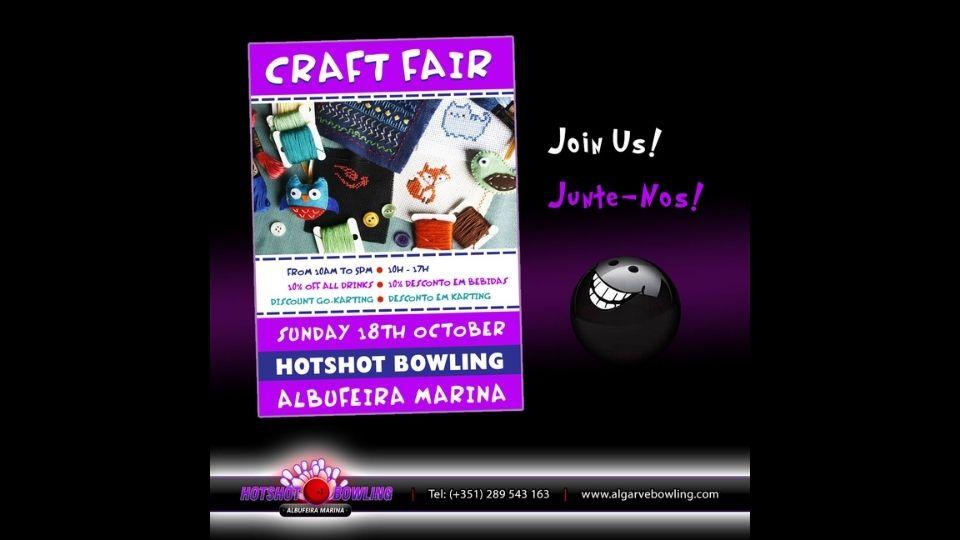 Craft Fair at Hot Shot Bowling