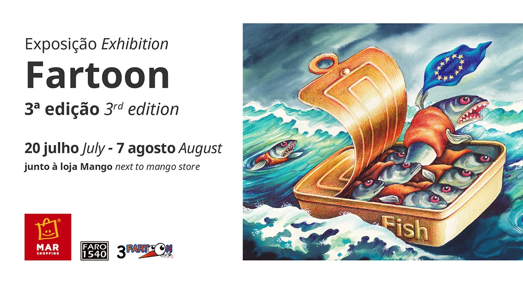 Fartoon - Cartoon Exhibition at MAR Shopping Algarve