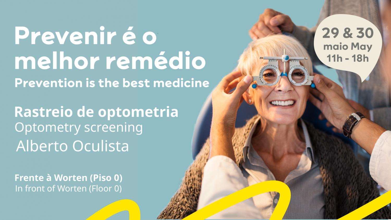 Free Eye Tests at MAR Shopping Algarve