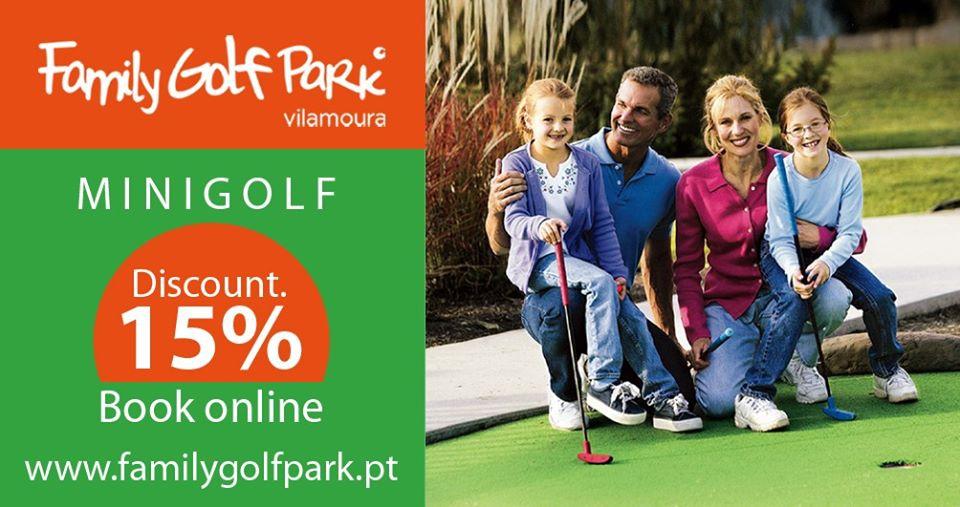Free for kids! Family Golf Park, Vilamoura