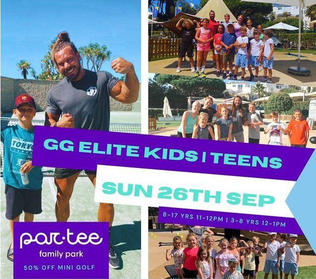 GG Elite Fitness Kids Teens Par.tee