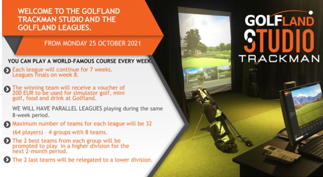 Golfland Trackman Studio Leagues