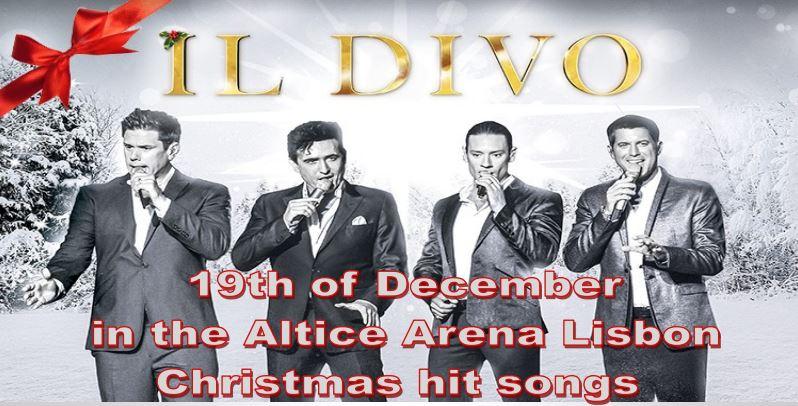 IL DIVO Christmas Concert Lisbon