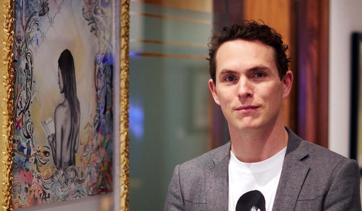 James Mylne Exhibition at ArtCatto
