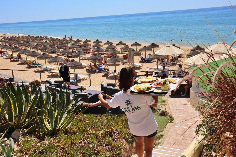 Julia's Beach Bar showing all Euro 2020 games