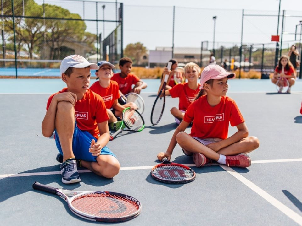 Junior Tennis Camps at The Campus