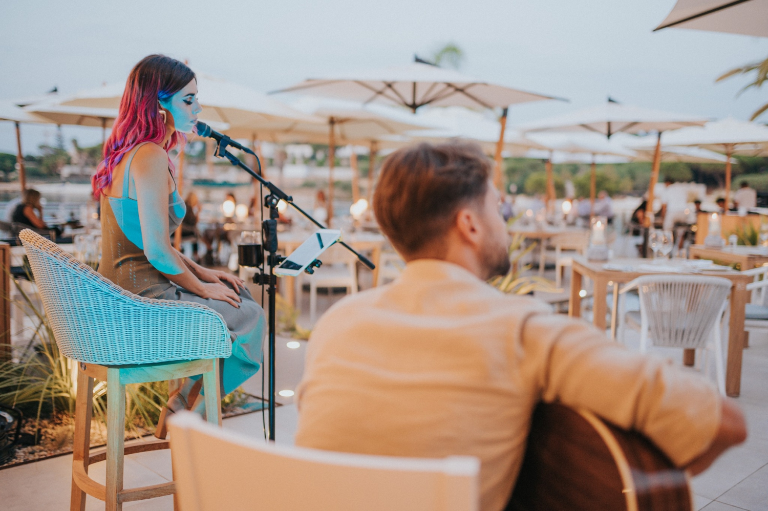 Live Music Sessions at Casa do Lago