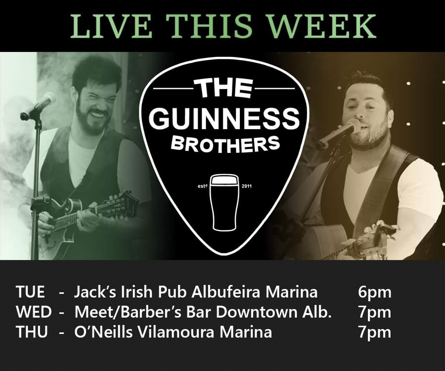 Live music with The Guinness Brothers