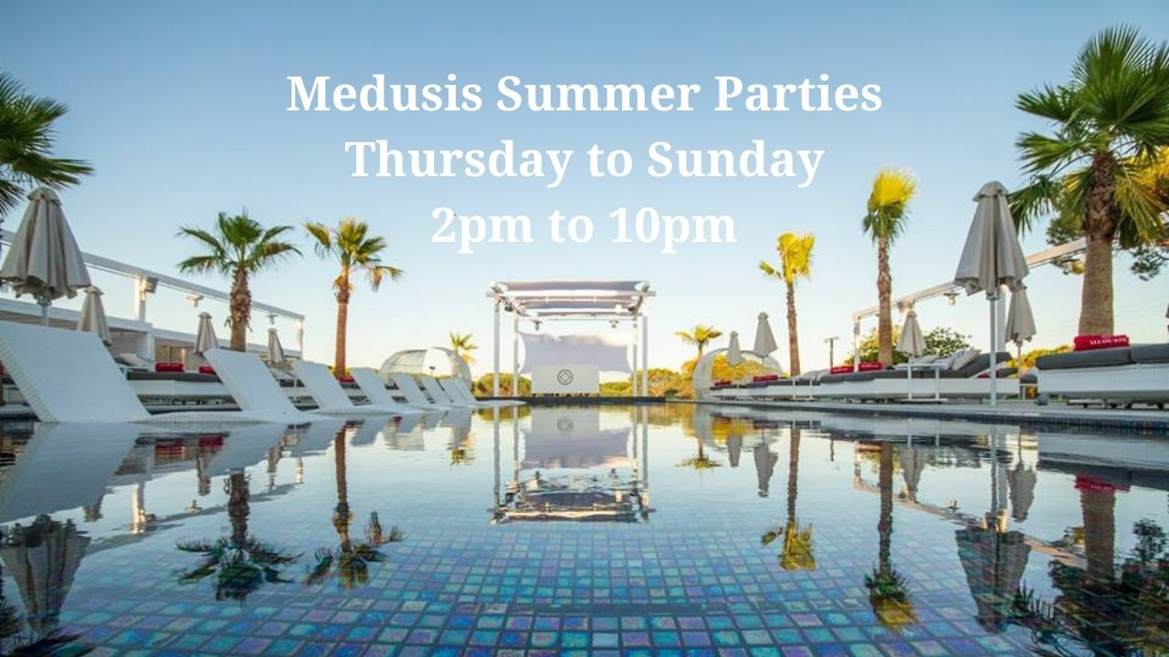 Medusis Day Parties by the Pool