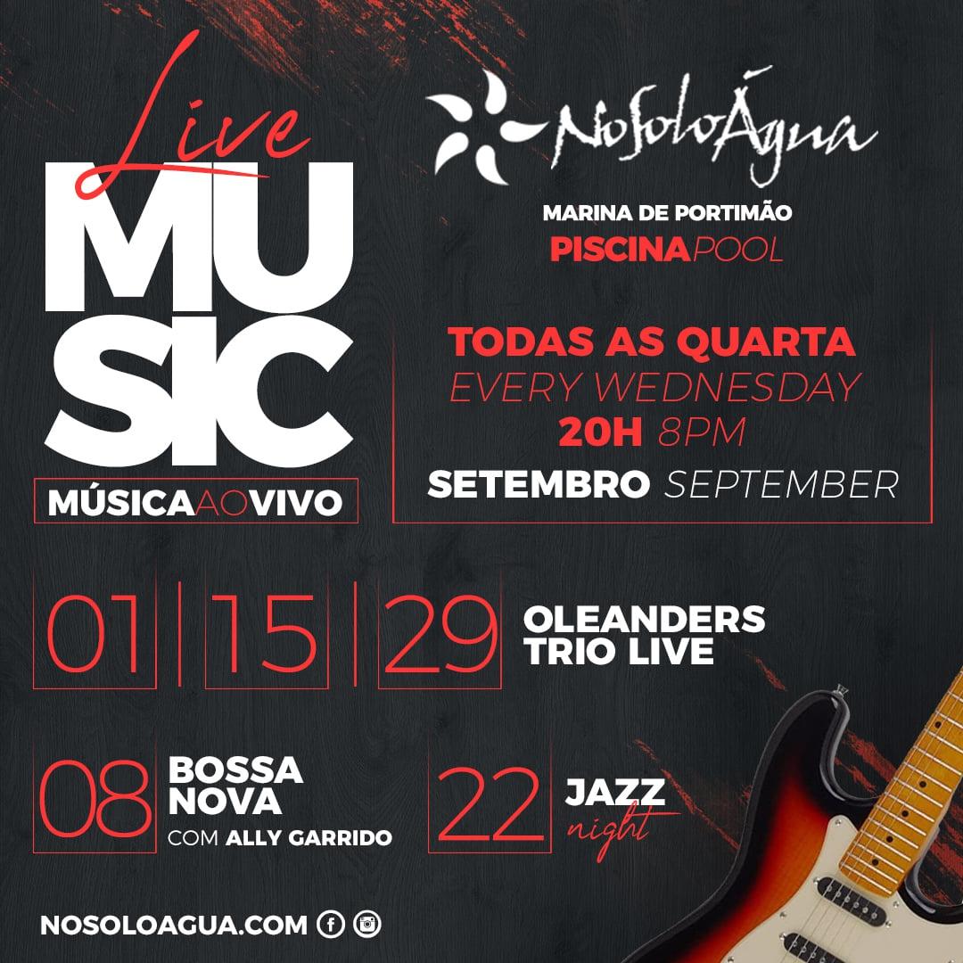 Mid Week Live Music at NoSoloAgua