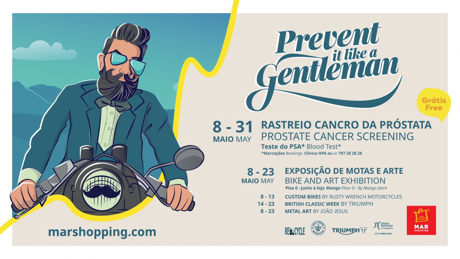 Prevent it Like a Gentleman at MAR Shopping