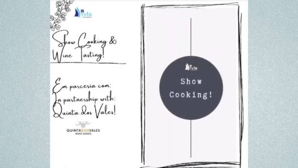 Showcooking Wine Tasting at Restaurante A Vela Carvoeiro