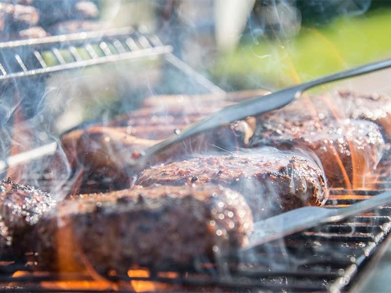 Summer BBQ at VILA VITA Biergarten with live music