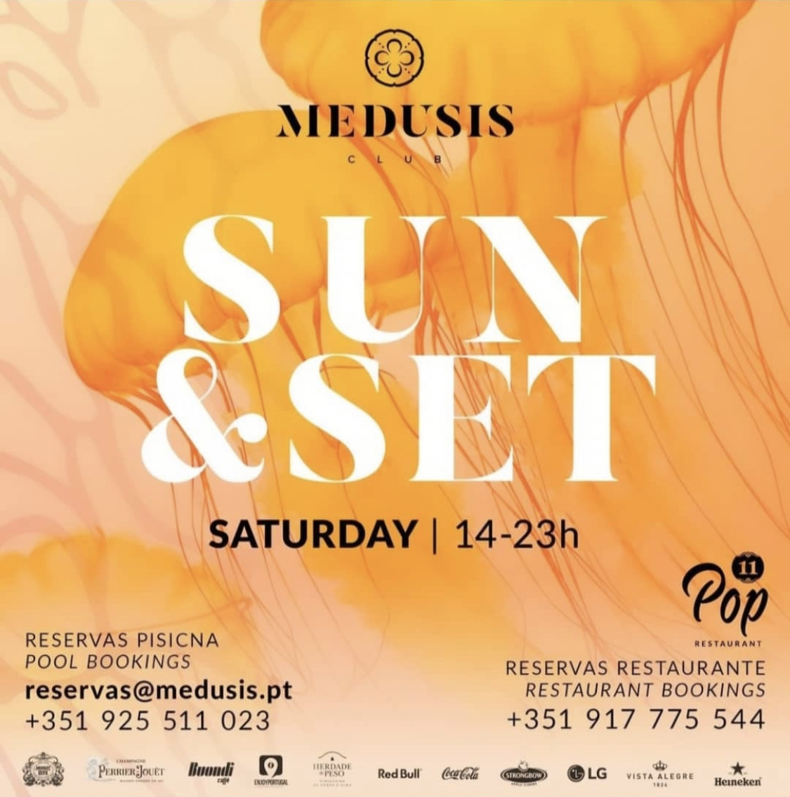 Sun & Set Saturdays at Medusis