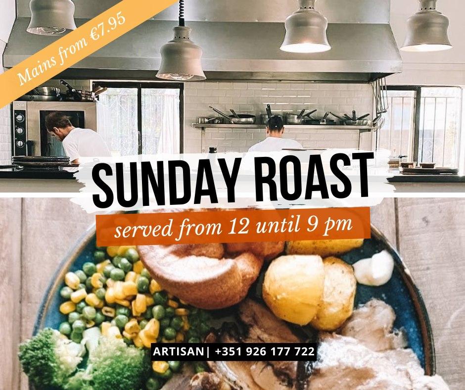 Sunday Roast at Artisan