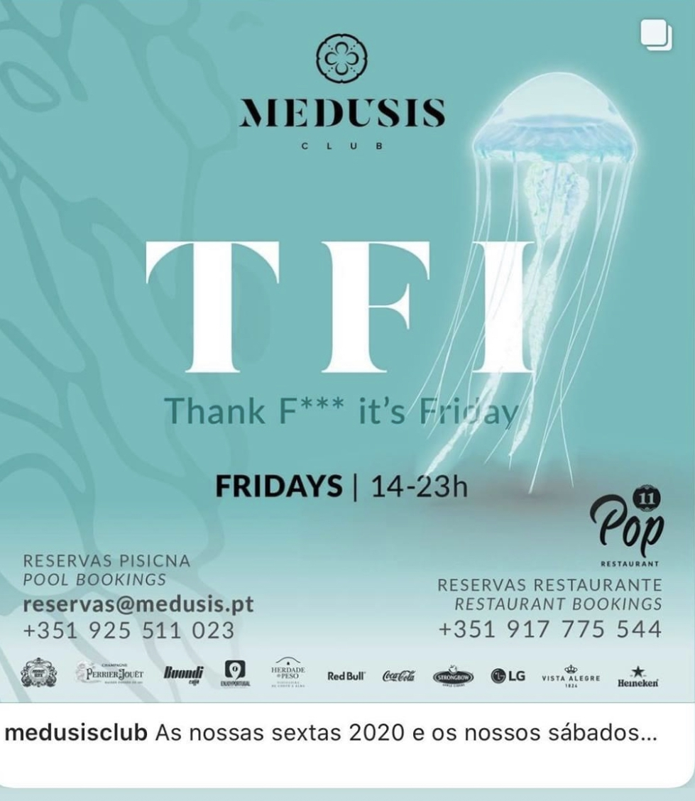 TFI Friday at Medusis Club
