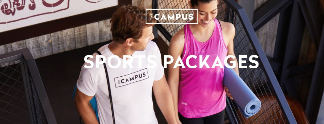 The Campus Fusion Sports Package