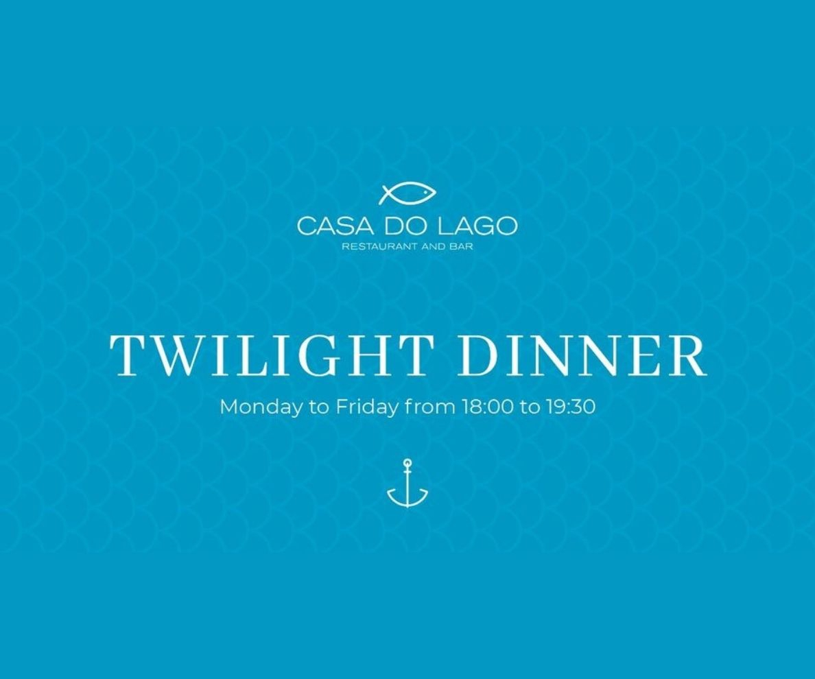 Twilight Dinner at Casa do Lago