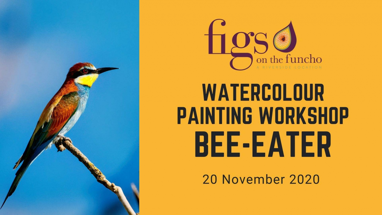 Watercolour Painting Workshop - Figs on the Funcho - Portugal