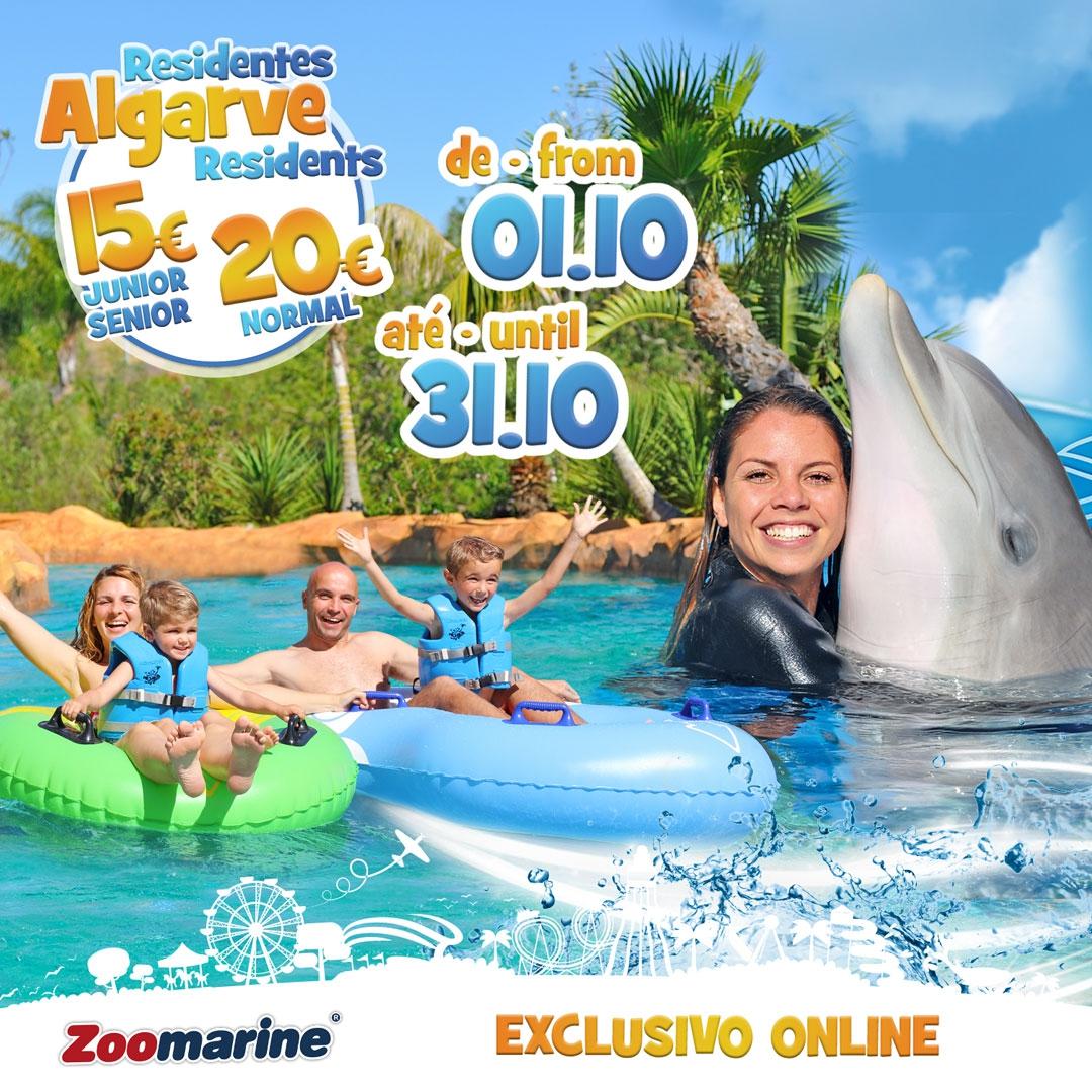 Zoomarine - discount for Algarve residents