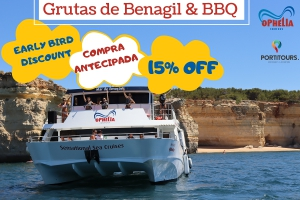 Benagil Cave & BBQ Early Bird Discount