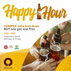 Happy Hour ! Buy 1 Get 1 Free at Golfland