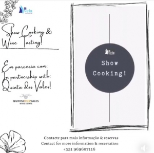 Showcooking Experience at Restaurante A Vela