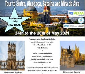 Tour to Sintra, Alcobaça and Batalha by PDM Travel