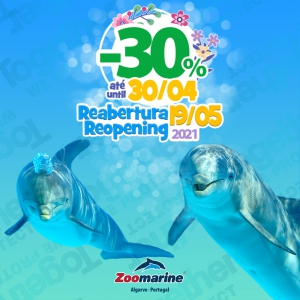 Zoomarine Reopening Offer - 30% off!