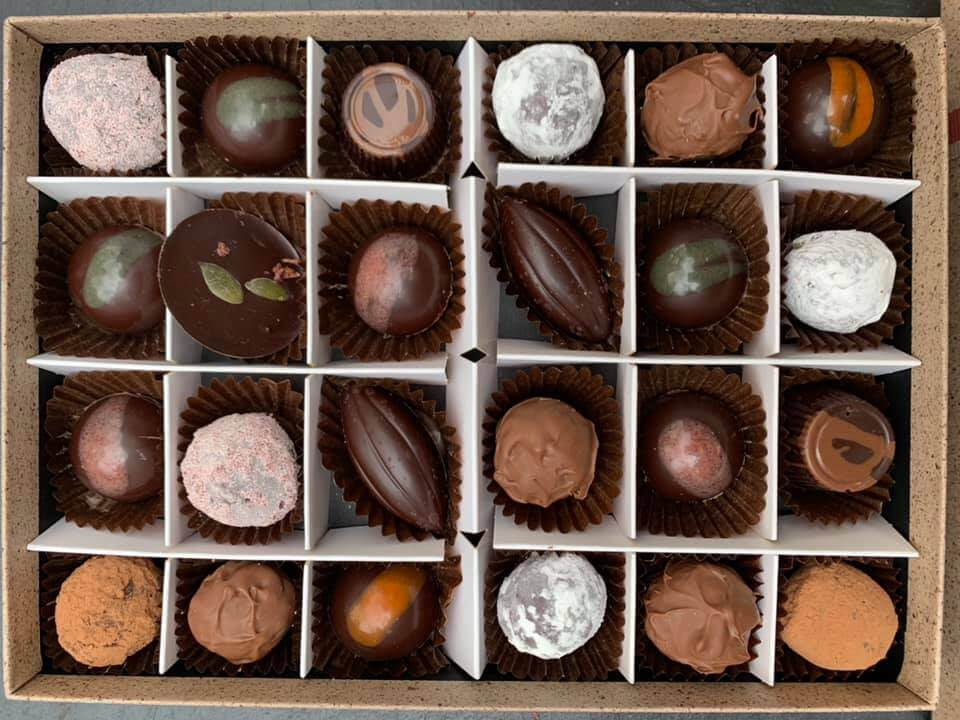 Rainbow Organic Chocolates