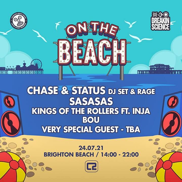 On the Beach – Brighton