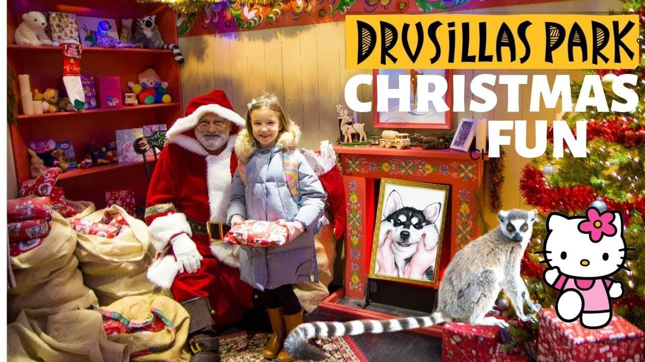 Santa's Grotto 2020 at Drusillas Park