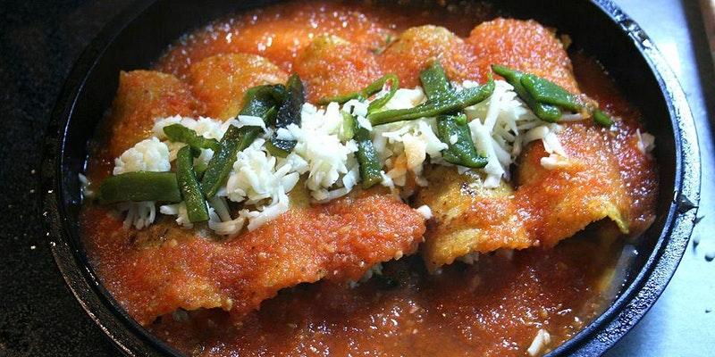 FREE Virtual Cooking Class: Chile Relleño Enchiladas & Jalapeno Margaritas