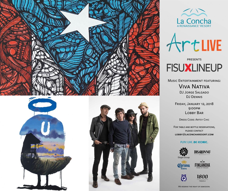 Art Live Flyer