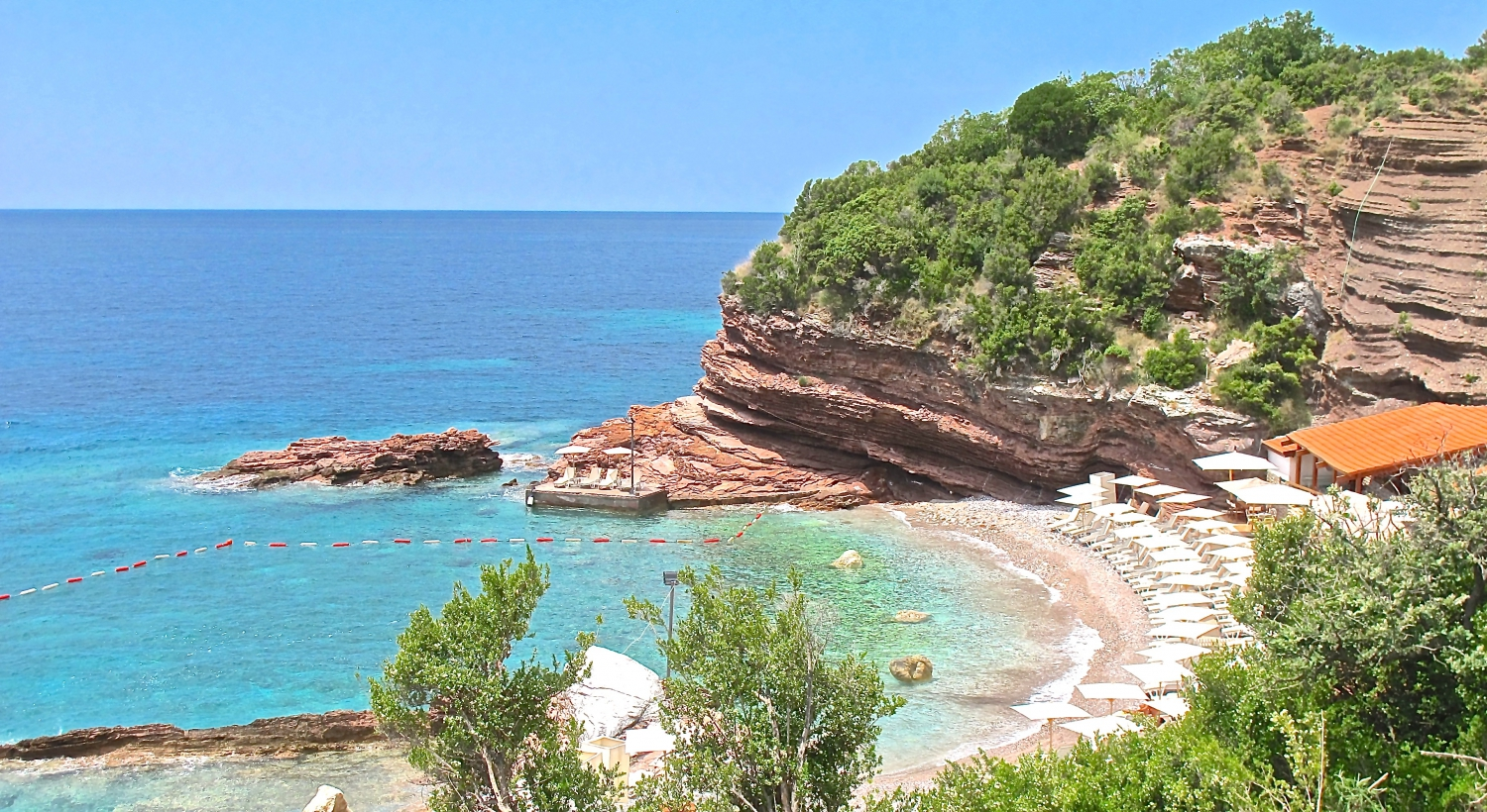 The most popular beaches of Montenegro