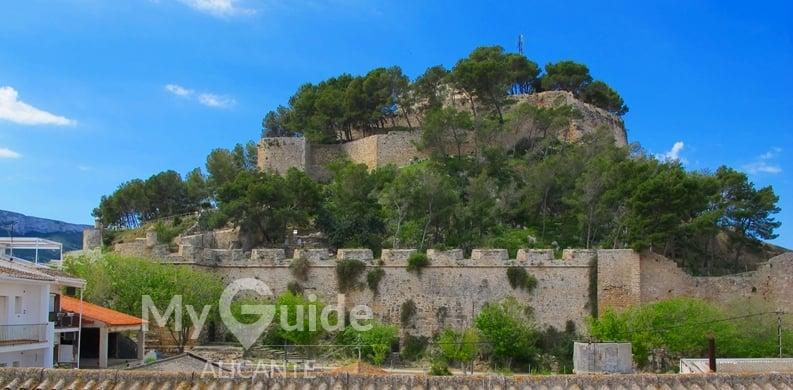 Denia castle, denia cuisine