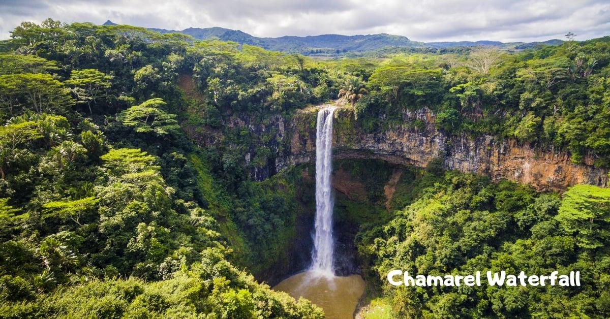 Waterfalls in Mauritius - Chamarel Waterfall