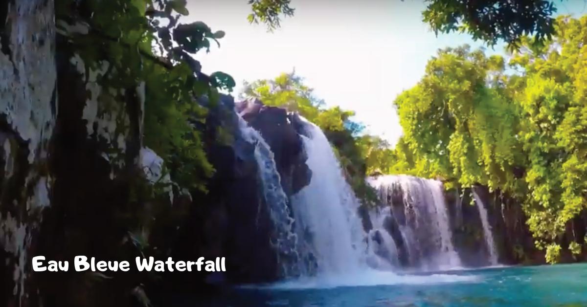 Waterfalls in Mauritius - Eau Bleue Waterfall