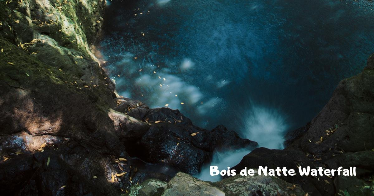 Bois de Natte waterfall at La Vallee des couleurs
