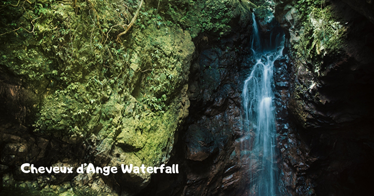 Cheveu d'Ange Waterfall at La Vallee des Couleurs