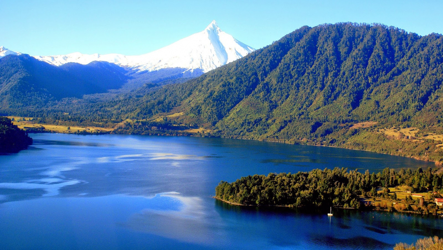 Puyehue Lake In Chile My Guide Chile