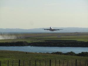 Scenic Lookout Airport Runway- Auckland