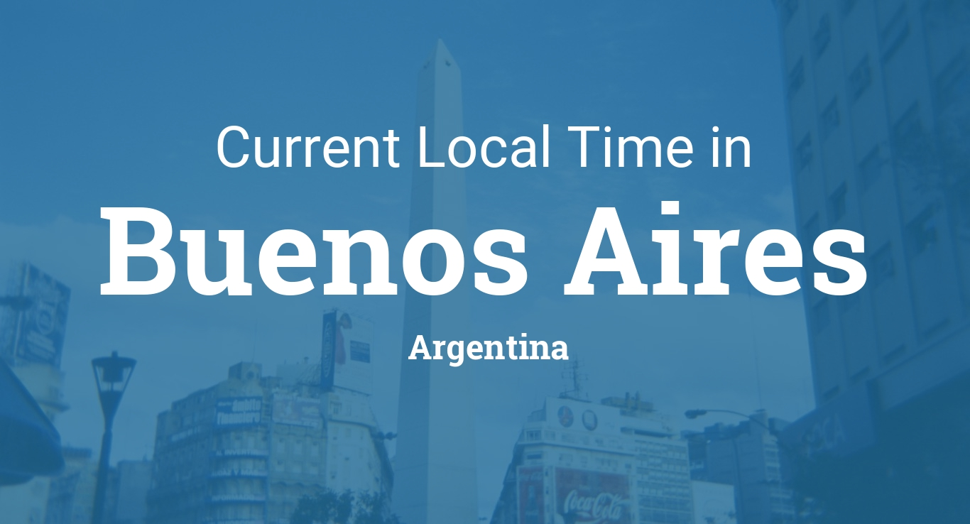 What time zone is Argentina on?