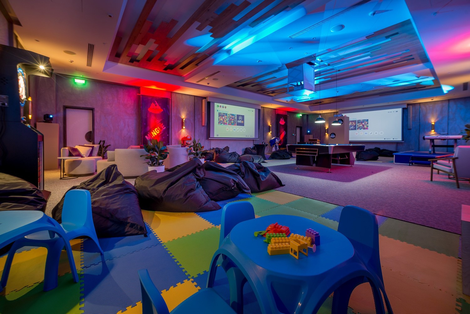A New Game Room in Montenegro - Play Lustica Bay