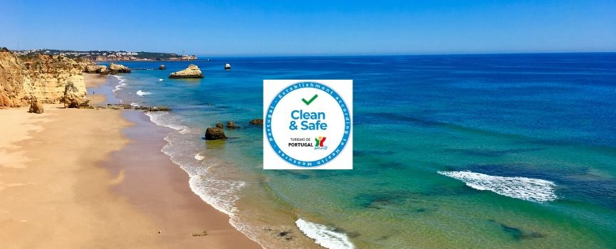 Clean & Safe - confidence boosting safety seal by Turismo de Portugal