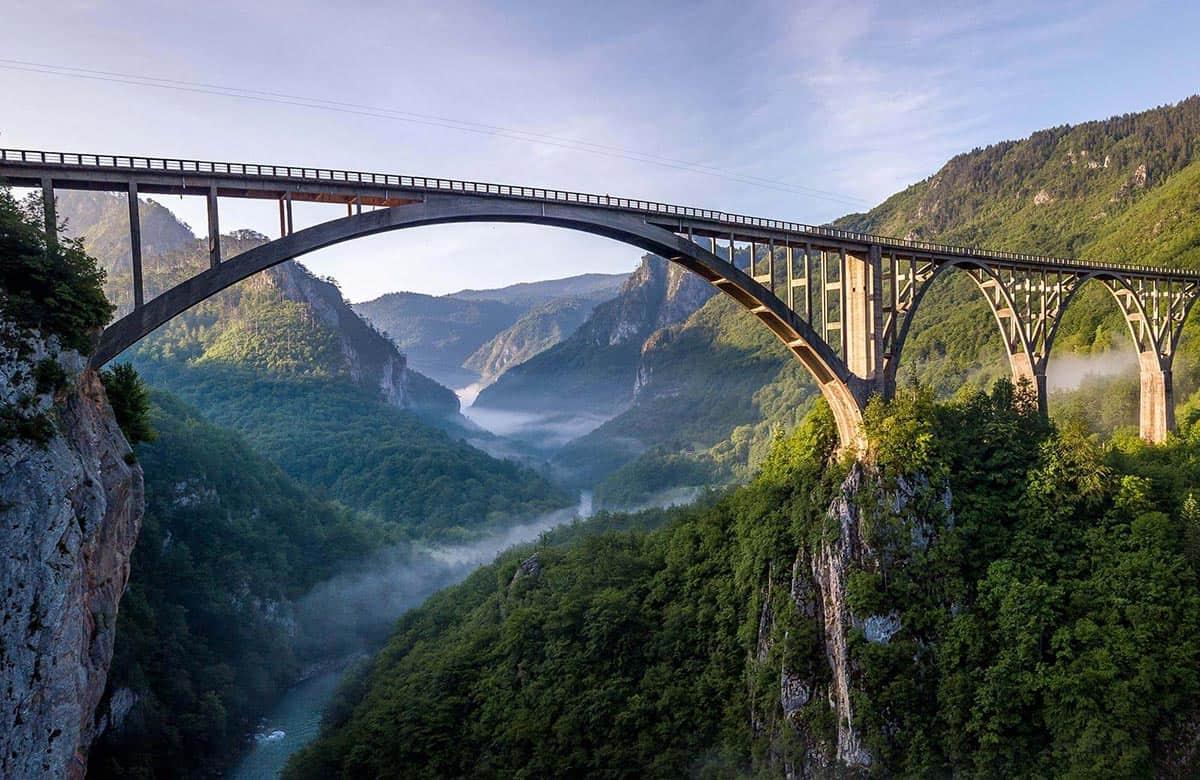 Djurdjevica Tara Bridge - The Architecture Art-piece