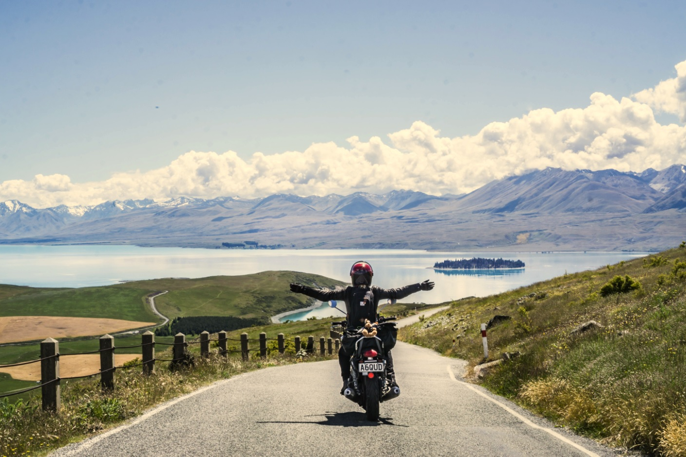 Exploring New Zealand's South Island by Motorcycle