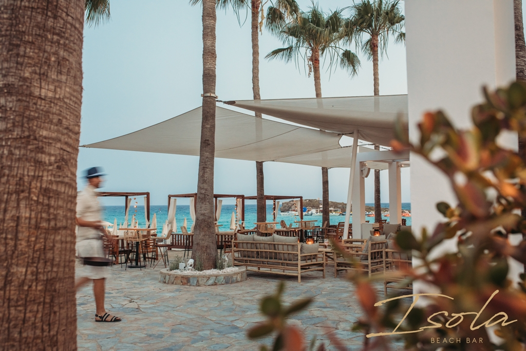 Isola Beach Bar at Nissi Beach Summer Opening